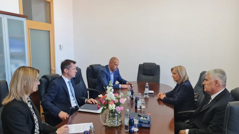Čović i Krišto u službenoj posjeti Livnu