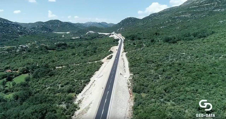Radovi na izgradnji ceste prema Neumu idu punom parom