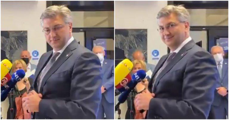 Novinarka objavila kako ju je Plenković odmjerio, komentari su urnebesni