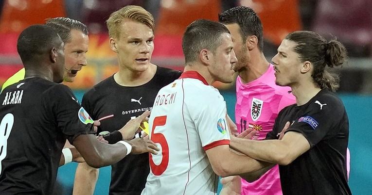 Srbin iz austrijskog tima opsovao majku Albancu iz makedonskog tima