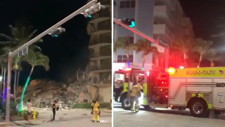 U Miami Beachu se urušio dio zgrade: Iz ruševina izvučen dječak i majka