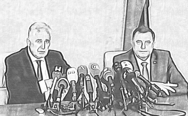Čović i Dodik se danas sastaju u Banja Luci