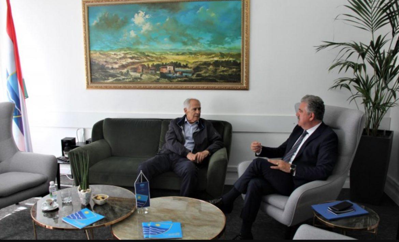 Herceg se sastao s predsjednikom HAZU-a BiH