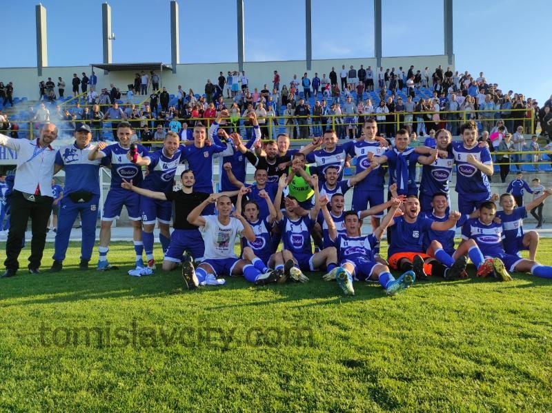 Nakon 20 godina HNK Tomislav ponovno u Prvoj ligi FBiH