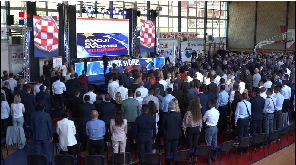 UŽIVO pratite zasjedanje HNS-a BiH: Hrvati su slobodan i državotvoran narod