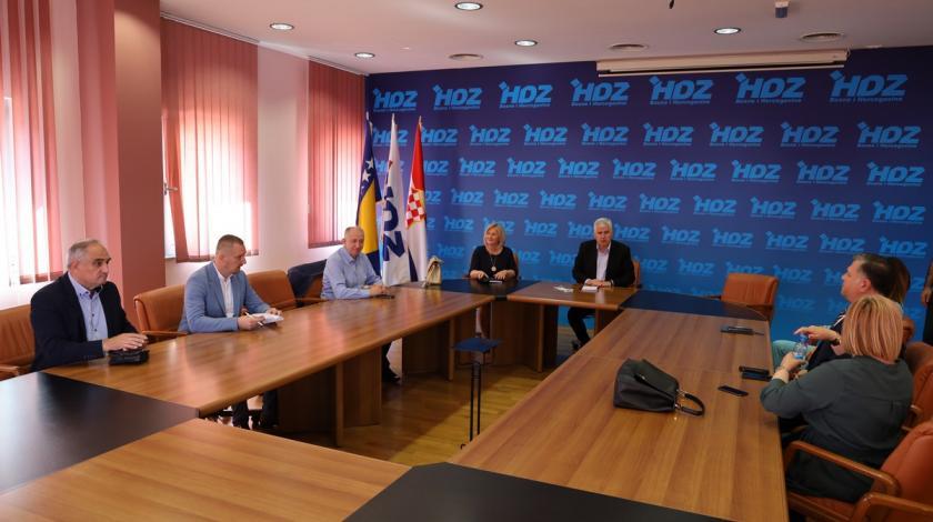 Sastanak Čovića s dužnosnicima HDZ-a BiH s državne razine vlasti