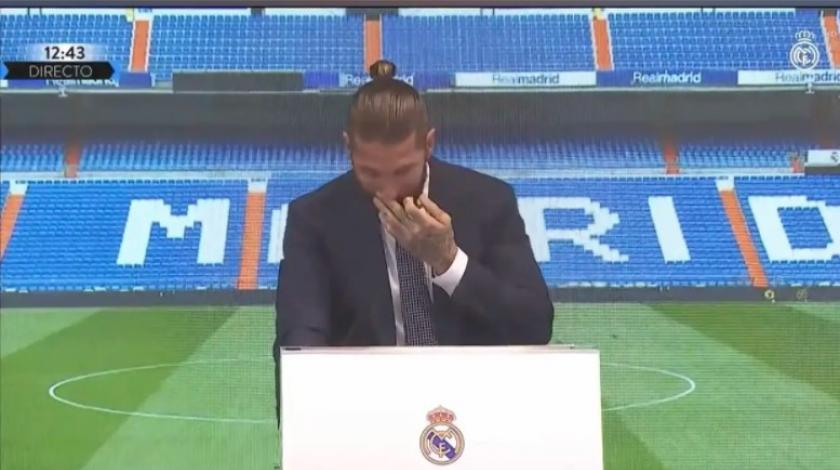Ramos zaplakao na oproštaju od Reala