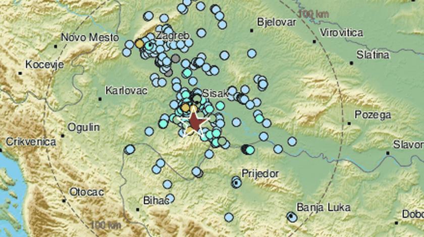 Banovinu probudio snažan potres
