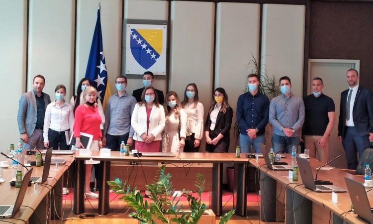 Studenti posjetili MCP BiH; Gudeljević im poručila da slijede svoje snove