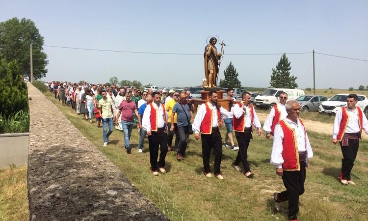 Tomislavgrad: Mnoštvo vjernika na svetkovini svetog Ive u Roškom Polju