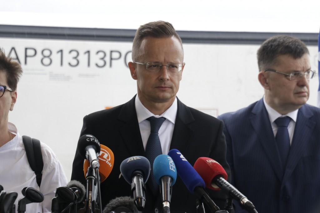 Mađarski šef diplomacije u posjetu BiH, evo šta je pričao s Novalićem