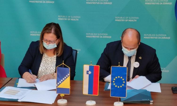 Gudeljević potpisala novi sporazum o donaciji cjepiva BiH