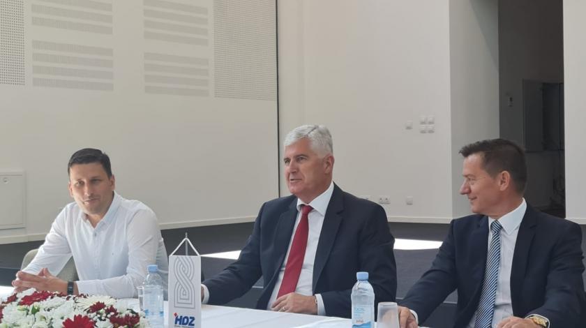 Čović održao sastanak u Tuzli