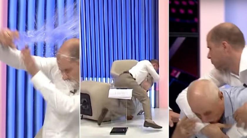 Političari se potukli u TV studiju, polijevali se vodom…