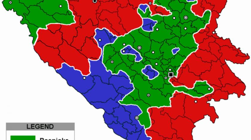 Unutarnje razgraničenje: BiH je već podijeljena zemlja, granice su iscrtane
