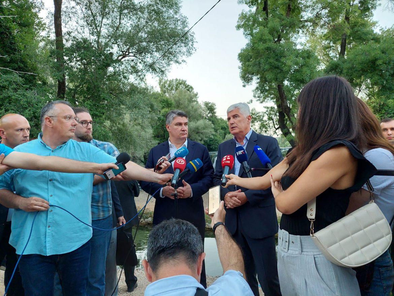 Milanović oštro iz Ljubuškog: Preglasavanje Hrvata pretvorilo se u zlostavljanje