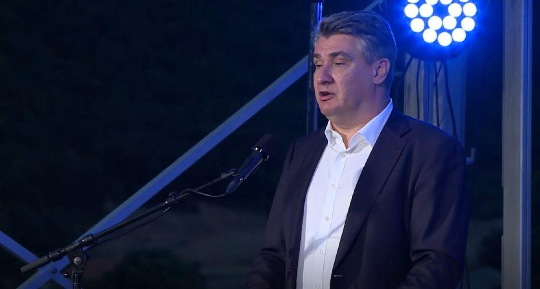 Milanović u Kninu: Potvrđujemo ispravnost našeg puta, ne želimo povrijediti druge