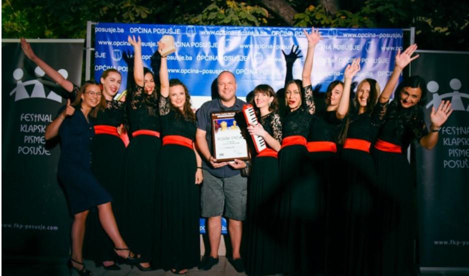 """Klapa Zvizdan najbolja u ženskoj konkurenciji """"Festivala klapske pisme"""" u Posušju"""