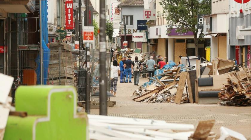Problemi sa smećem nakon velikih poplava u Njemačkoj